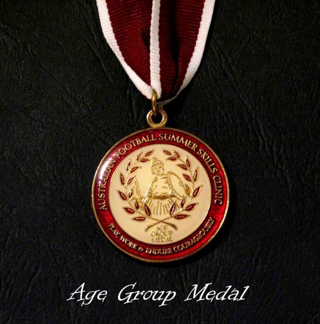 The Age Group Medal